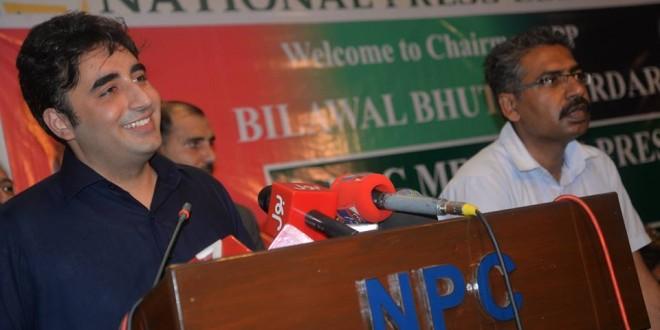 Nawaz Sharif is not morally able for  prime minister : Bilawal