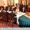 Free, fair and peaceful elections will be ensured: Nasir-ul-Mulk