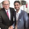 Pakistani businessman Bilal Basit met President Catalonia