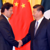 Prime Minister Imran Khan meets with Chinese President Xi Jinping