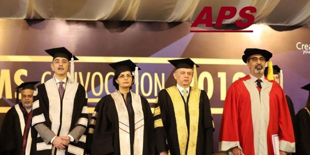 Sania Inspires Future Generation in LUMS Graduation Ceremony