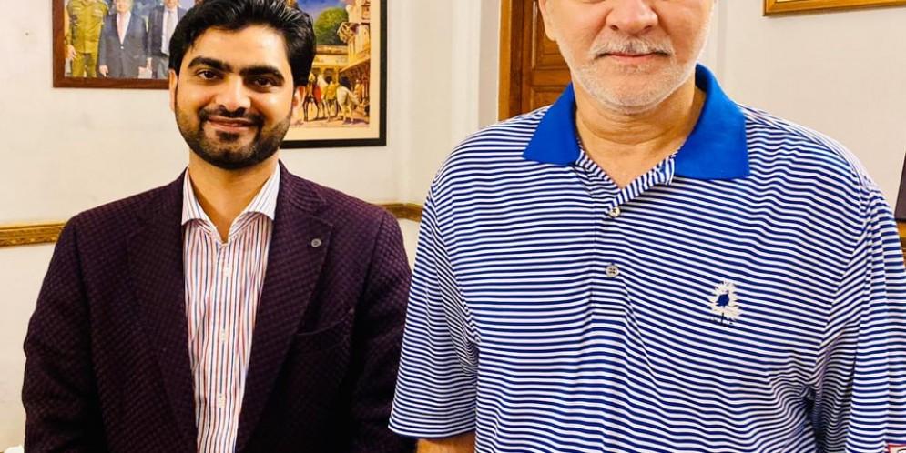 Ch. Bilal Basit Warraich meets RPO Gujranwala