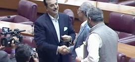 Yousuf Raza Gilani won the general seat