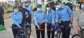 IG introduces 'Cycle Patrol Unit' to approach community
