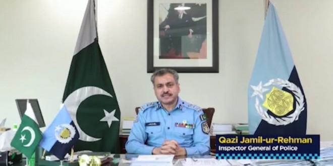 Police on frontline in fight against Coronavirus: IGP Qazi