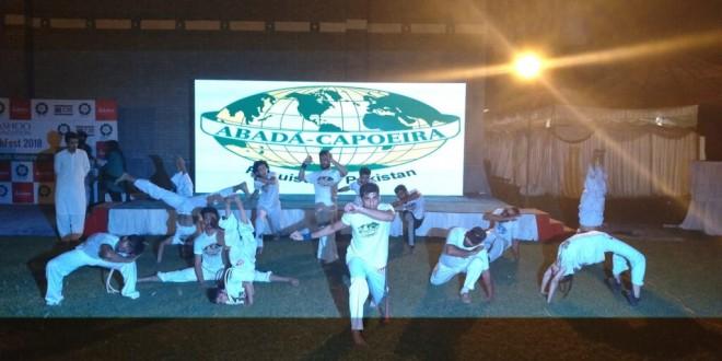Pakistan Capoeira Academy taking steps to counter obesity and depression through Capoeira therapy