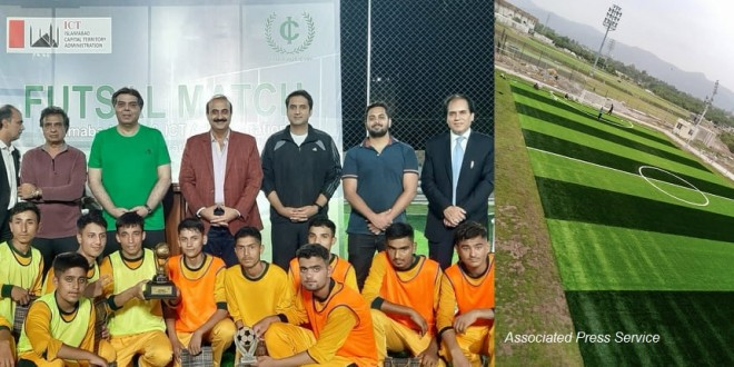 Islamabad Club launches sports facility for talented children
