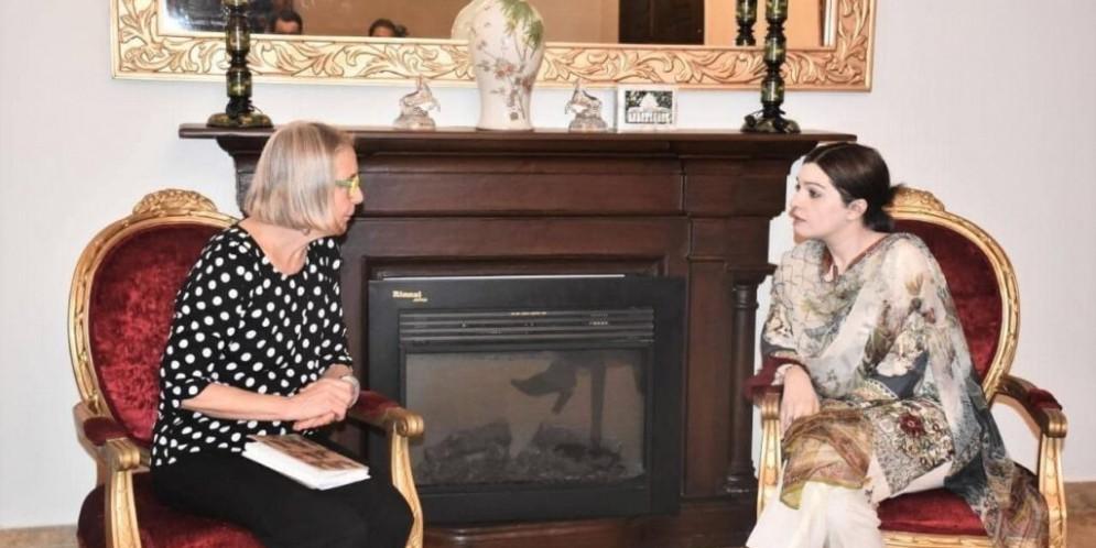 Australian Parliamentarian met with Mushaal  Mullick